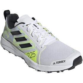 adidas TERREX Speed Flow Trail Running Shoes Men feather white/core black/solar yellow